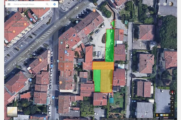 AREA EDIFICABILE in VENDITA a LUCCA - ARANCIO