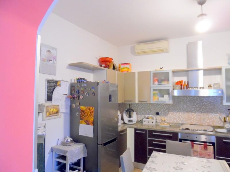 cucina abitabile a vista