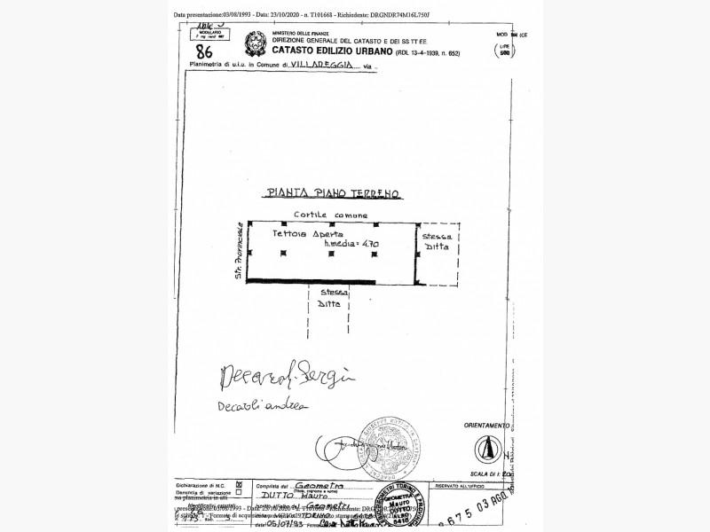 CASA INDIPENDENTE in VENDITA a VILLAREGGIA